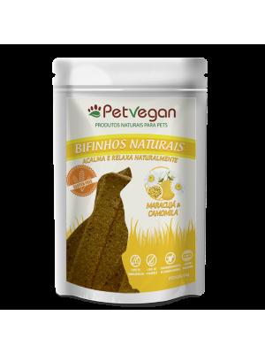 Bifinho Natural PetVegan - Maracujá & Camomila GLÚTEN FREE