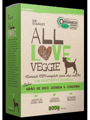 ALL LOVE Veggie - Ração ORGÂNICA