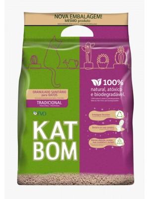 KATBOM Natural - Granulado Sanitário Biodegradável para gatos