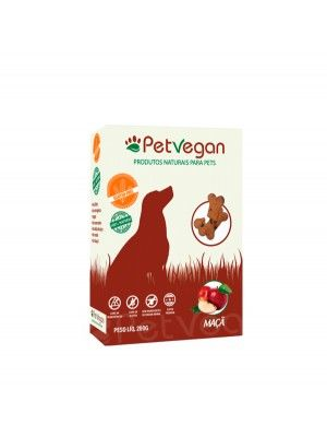 Biscoito Natural PetVegan - Maça GLÚTENFREE