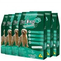 6 pacotes Ração Fri Dog Vegetariana  - Cada pacte sai R$35,00